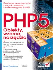 PHP5. Obiekty, wzorce, narzędzia