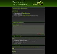 strzel.com.pl :: system reklamacyjny - formularz klienta