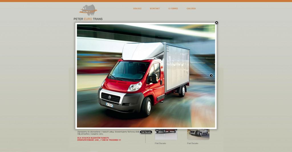 Peter Euro Trans - strona www cz.2