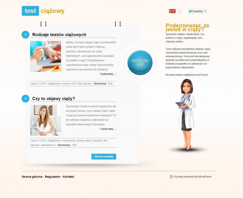 test_ciazowy
